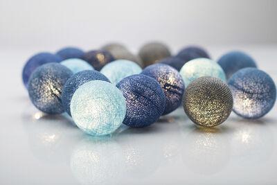 Ocean Blue LED lyskæde, 20-lys