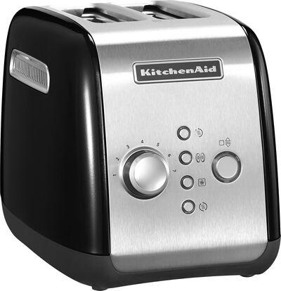 Toaster 2 skiver sort