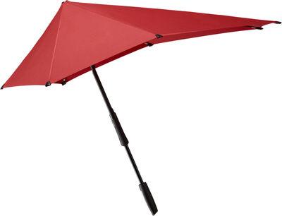 Senz° Large stick storm umbrella passion red