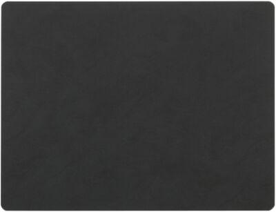 TABLE MAT SQUARE L (35x45cm) NUPO black