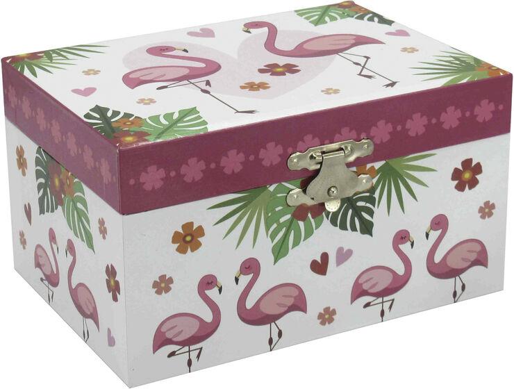 Smykkeskrin ''Flamingo'' med musik