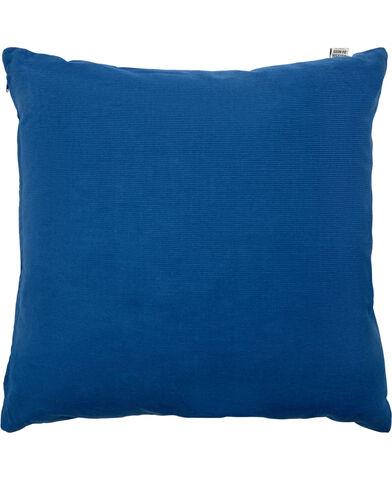 CORDUROY/BLUE, PYNTEPUDE, 48X48 CM