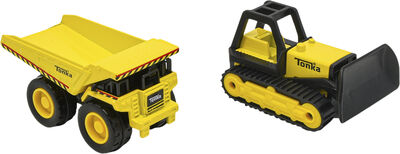 Tonka Metal Movers Combo Pack W2 - 6021 Mighty Dump and Bull