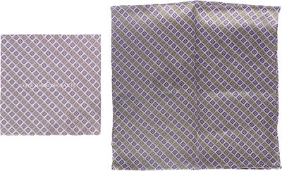 MJM Scarf Aija 100% Silk Purple