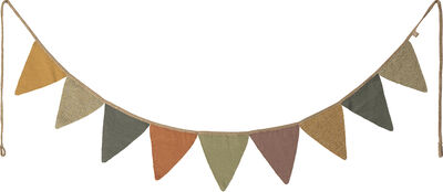 Garland, 9 flags, knit - Multi
