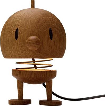 Large Lamp - Oak