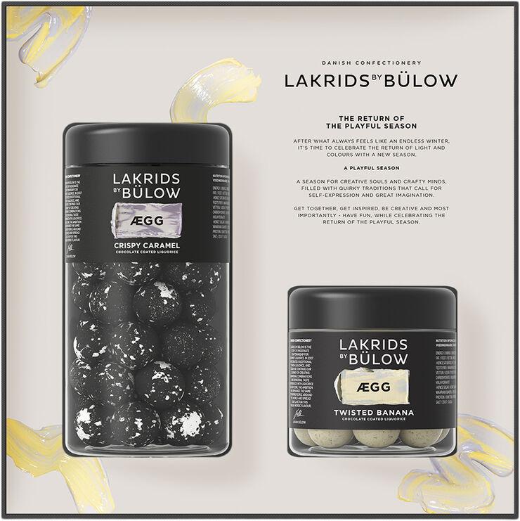 BLACK BOX ÆGG REGULAR/SMALL CRISPY CARAMEL/TWISTED BANANA