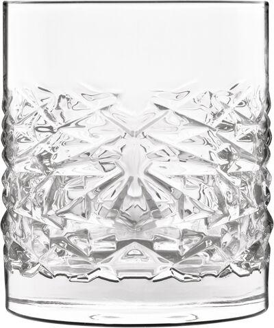Mixology 4 stk. Textures vand/whiskyglas