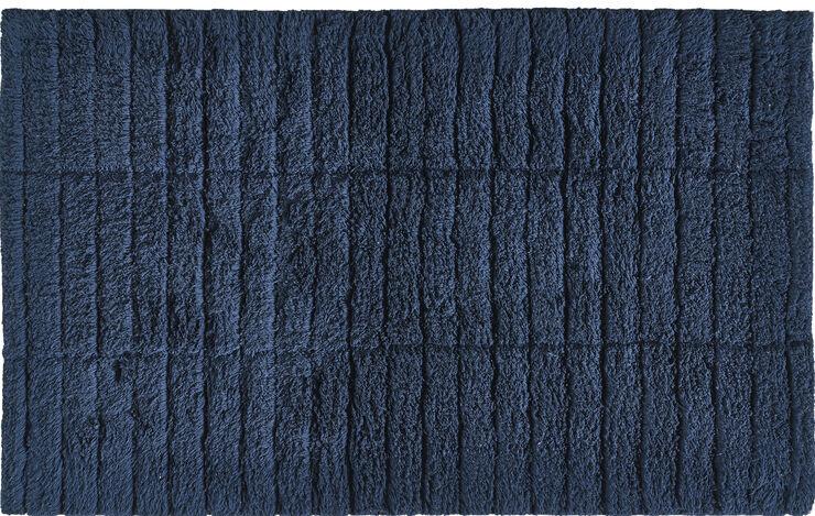 Bademåtte Dark Blue Tiles