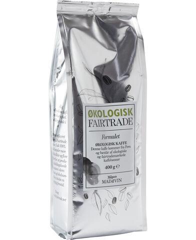 Økologisk kaffe 400 g.