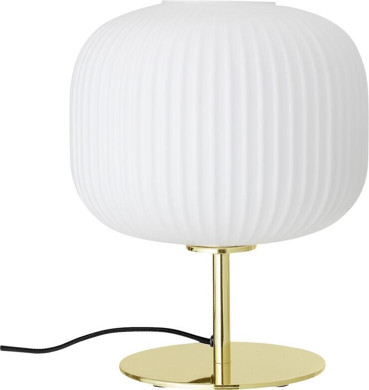 Bordlampe, Guld, Metal
