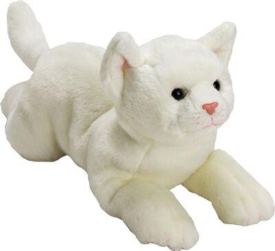 Medium Yomiko White Cat