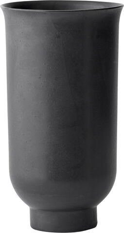 Cyclades Vase, L, Black