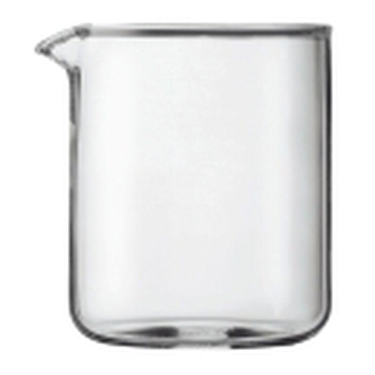 Reserveglas til stempelkande, 4 kopper, 0.5 l.