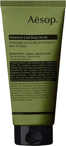 Geranium Leaf Body Scrub