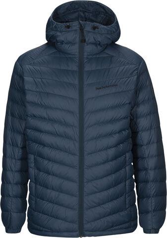 Frost Down Hood Jacket Blue Steel