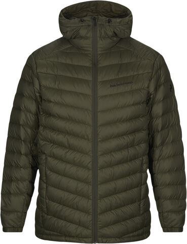 Frost Down Hood Jacket Forest Night