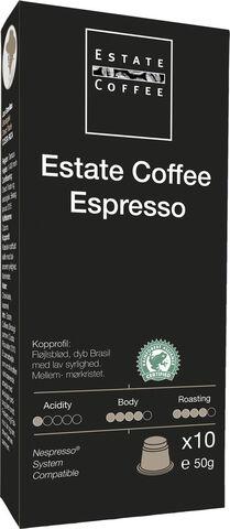 Estate Kaffekapsler Espresso 10 stk