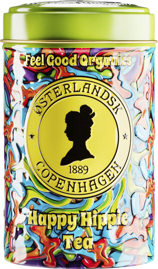 Happy Hippie Tea Organic, 125g can