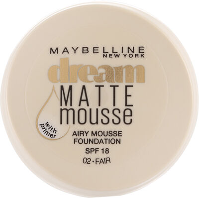 Dream Matte Mousse Foundation