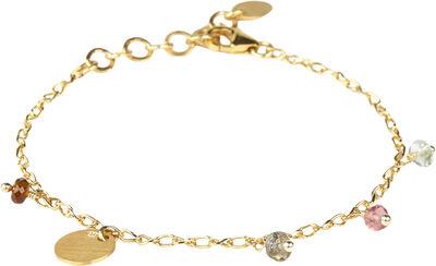 Riley Tormaline Bracelet - Gold