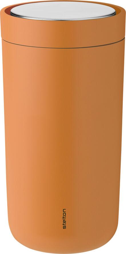 To Go Click d. steel, 0,4 l. - soft orange