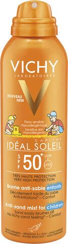 Idéal Soleil Anti-Sand Mist Børn ansigt/krop SPF 50+, 200 ml.