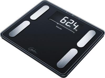 Kropsanalysevægt i sort BF 410