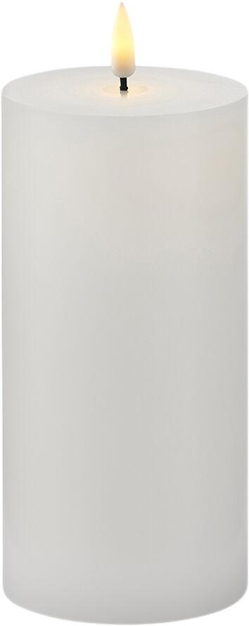 Sille Exclusive Ø7,5x H15cm, Hvid