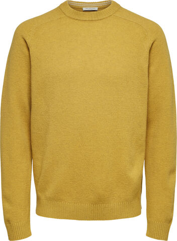 SLHNEWCOBAN LAMBS WOOL CREW NECK W