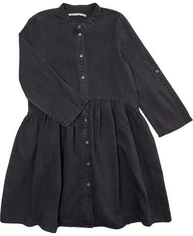KONCHICAGO BLACK WASHED DNM DRESS