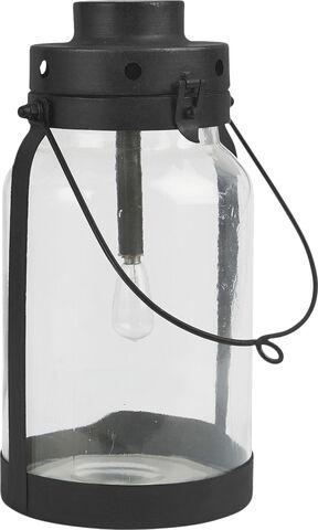 LED-lanterne m/metalbund