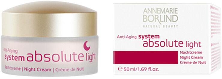 Night cream light antiage  SystemAbsolute Annemarie Börlind