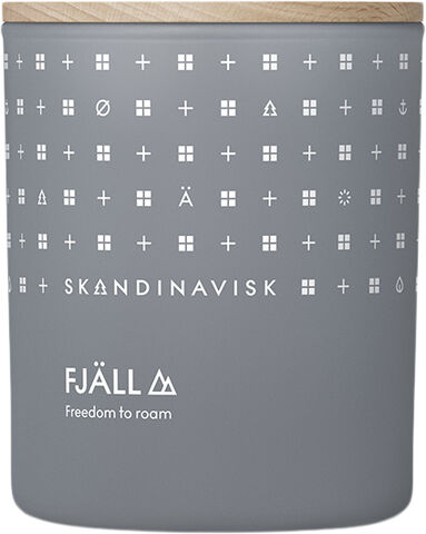 FJÄLL Scented Candle w Lid 200g
