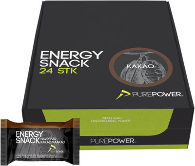 Energy Snack Kakao 60 g 24 stk.