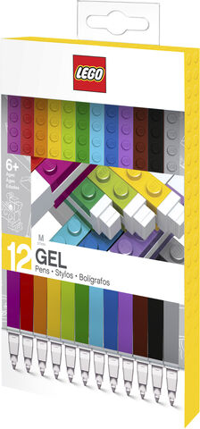 Gel pens, 12 colours. packed in colour box