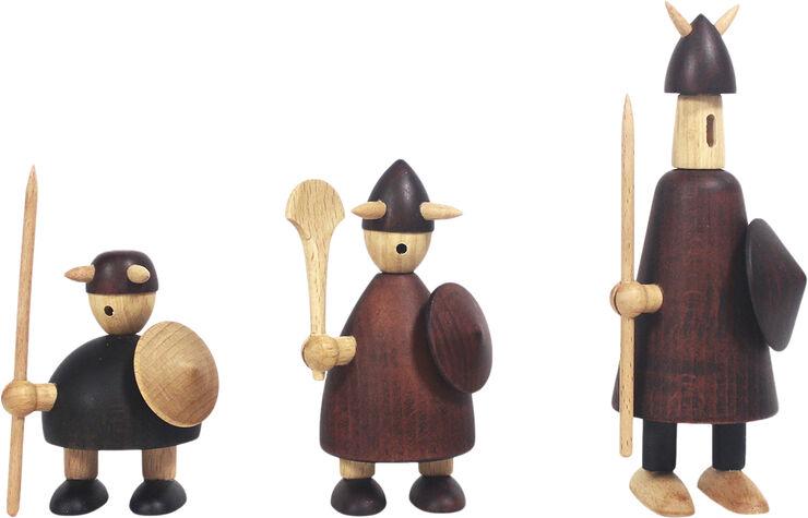 The vikings of Denmark - Set of 3