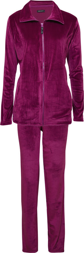 DECOY velour homewear set