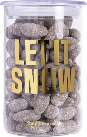 Let it snow, Dragee jar (280 g)
