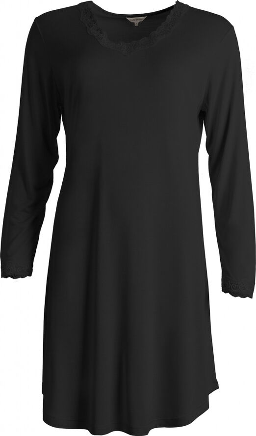 Silk Jersey - Nightgown, Long sleeve