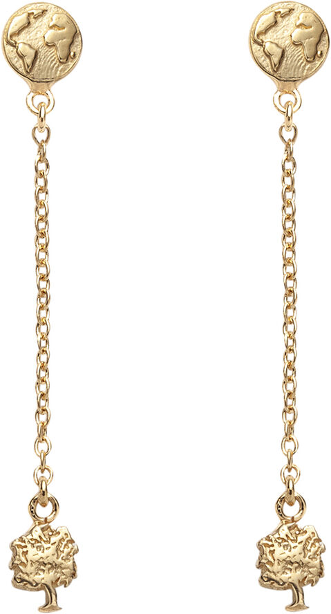 GG #13 & #15: Earstud with Chain
