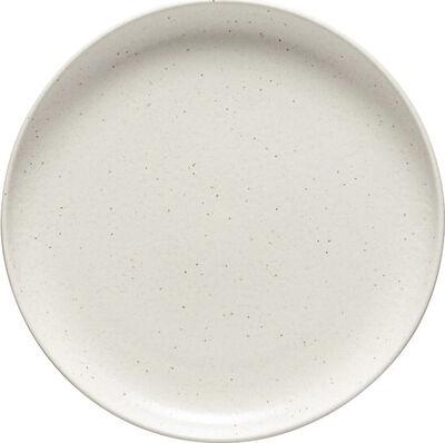 Pacifica tallerken flad, vanilla Ø2