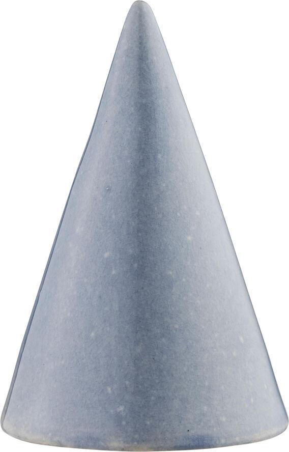 Glasurtop H15cm blå