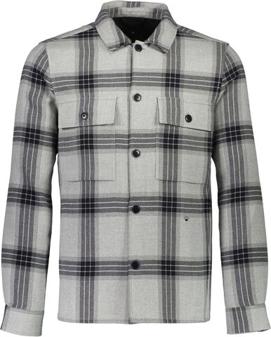 Checked outershirt