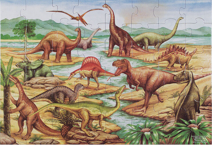 Dinosaurs Floor 48 pc