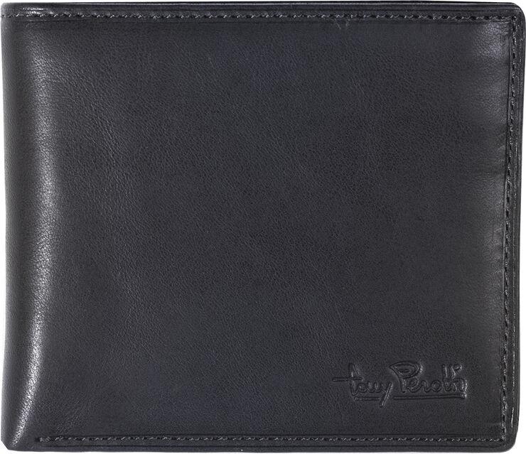 Billfold with coin zipper pocket