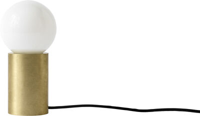 Socket, Occasional Lamp, Brushed Brass