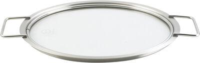 Tallerkenlåg glas 24 cm.