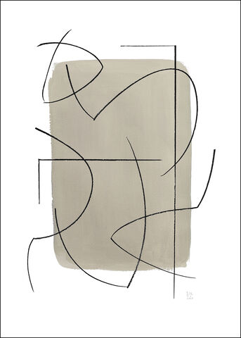 Berit Mogensen - Crossed Lines 2 A5