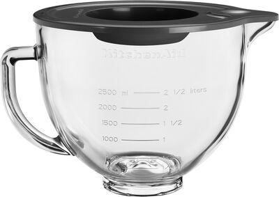 Artisan glasskål til køkkenmaskine 4,7 liter